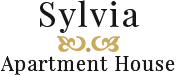 Szilvia Apartmanház Harkány Logo